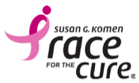 Susan G. Komen Race for the Cure logo
